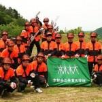 【京都府立林業大学校 経営高度化コースを担当します】