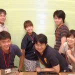 川上村地域づくりインターンシップ生との交流勉強会(8/17)